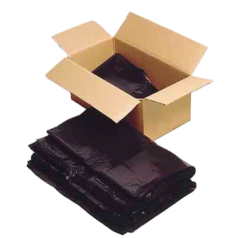 Standard Black Refuse Sacks (Box of 200) 140g