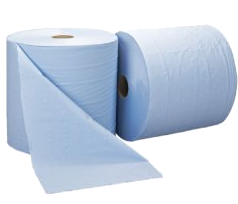Twin Bumper Wiping Rolls (Blue)