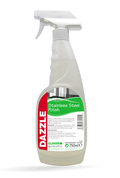 Dazzle Stainless Steel Cleaner Spray 750ml