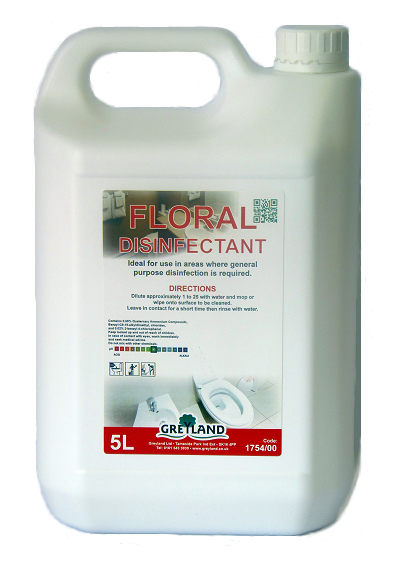 Floral Disinfectant 5 Litres