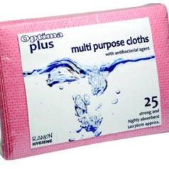 Optima Plus Lavette Wiping Cloths - Pack of 25