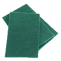 "Scouring Pads 6"" x 9"" (Pack of 10)"