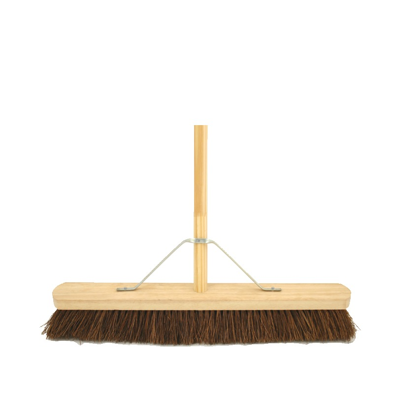 24 inch Soft Coco Broom Complete With Handle