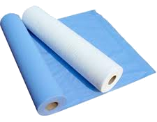 "Couch Rolls , 2 ply, 9 rolls 20"" x 50 metres (Blue or White)"