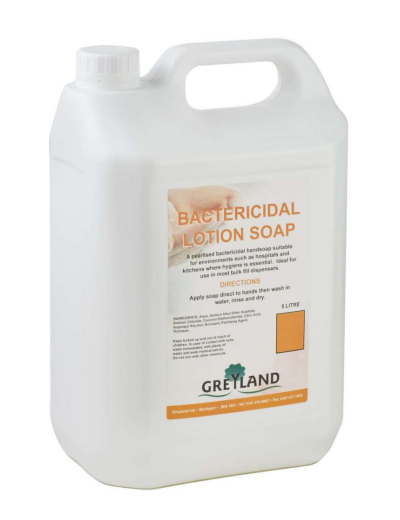 White Pearl Bacterial Hand Soap 5 Litre