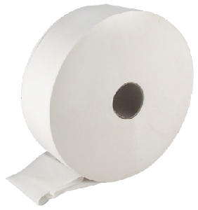 Maxi Jumbo Toilet Rolls 6 x 410m 2 ply, 2¼ or 3 inch core