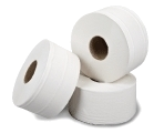 "Midi Jumbo Toilet Rolls 6x300m 2ply 2¼"" or 3"" core"