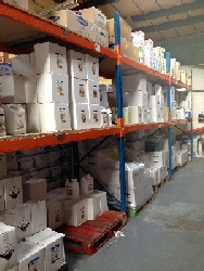 Northampton Supplies well stocked shelves in our Leicester based shipping facility